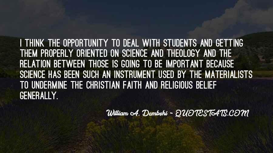 Christian Vs Science Quotes #676599