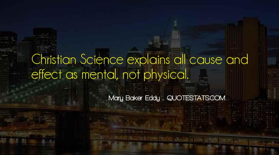 Christian Vs Science Quotes #950368