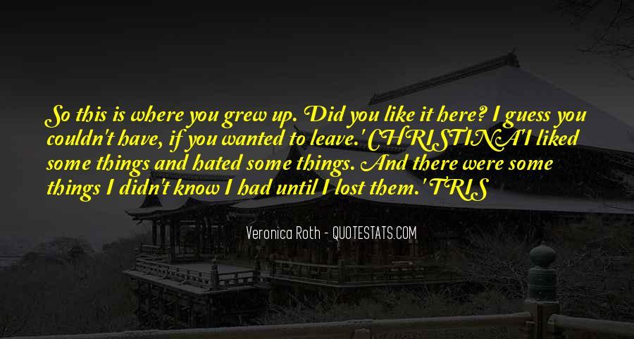 Christina And Tris Quotes #177923