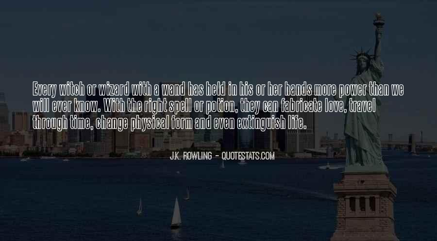 Quotes About Life And Change And Love #521605
