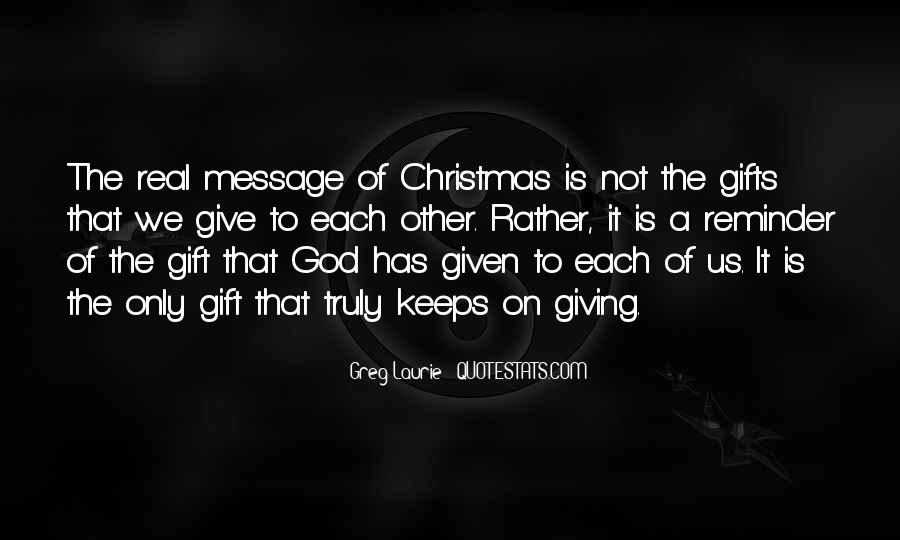 Christmas Gift Quotes #1610191