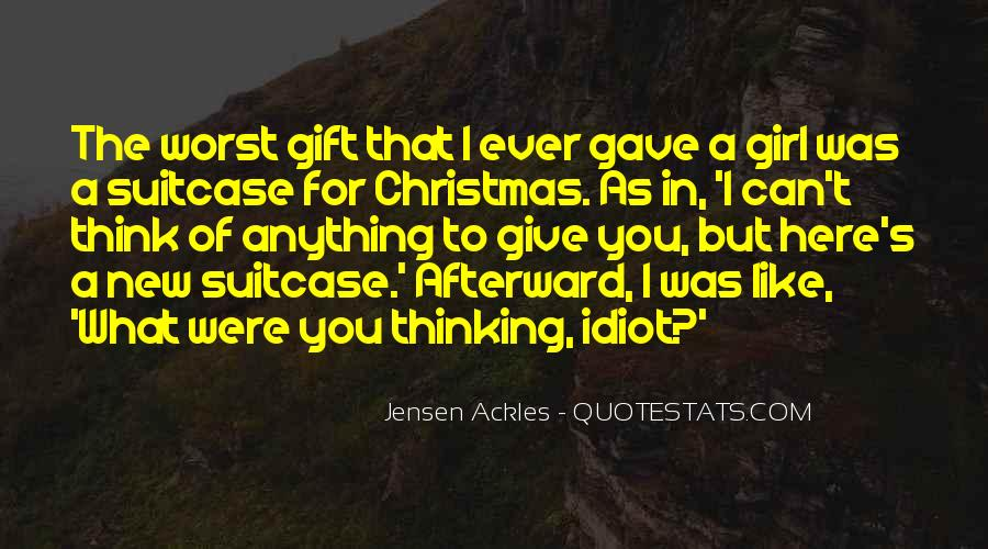 Christmas Gift Quotes #396324