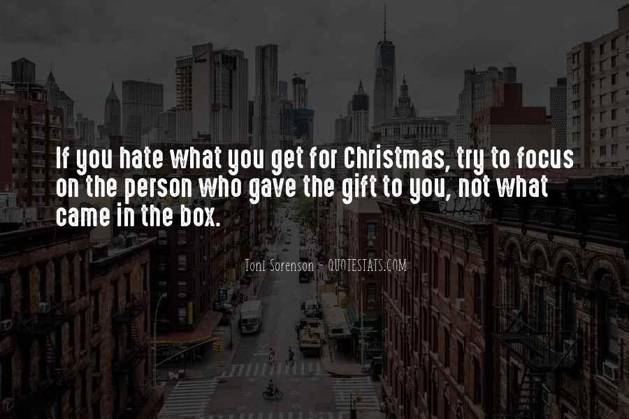 Christmas Gift Quotes #449171