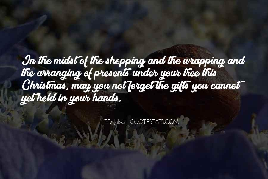 Christmas Tree And Gifts Quotes #1654488