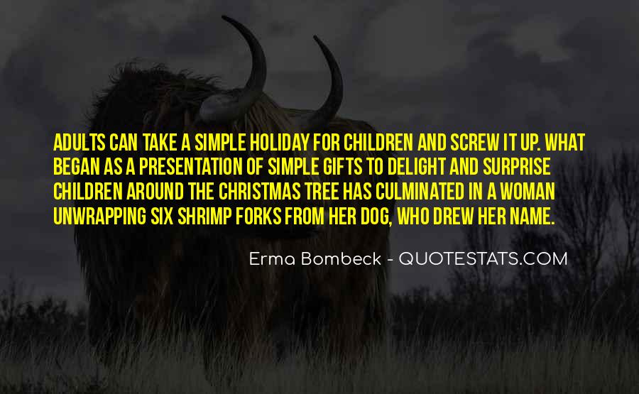 Christmas Tree And Gifts Quotes #1822887