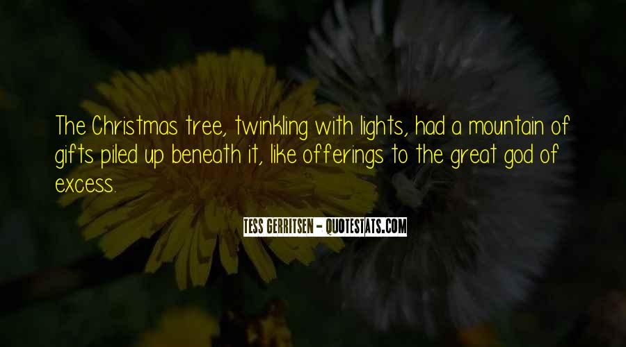 Christmas Tree And Gifts Quotes #637877
