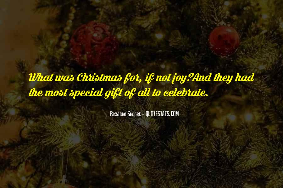 Christmas With Someone Special Quotes #11318