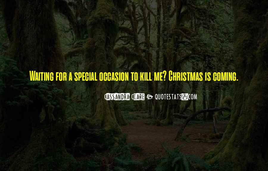 Christmas With Someone Special Quotes #1459930