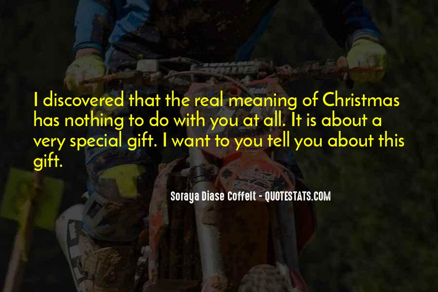Christmas With Someone Special Quotes #8356