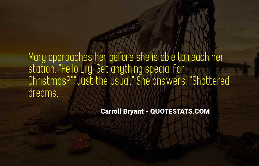 Christmas With Someone Special Quotes #893646