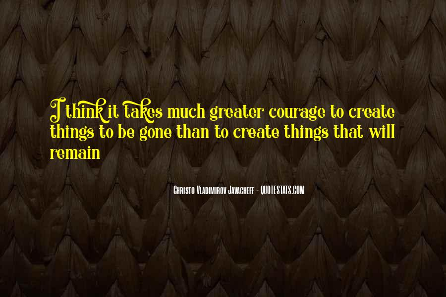 Christo Javacheff Quotes #1835720