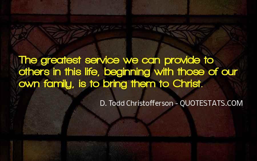 Christofferson Quotes #1078834