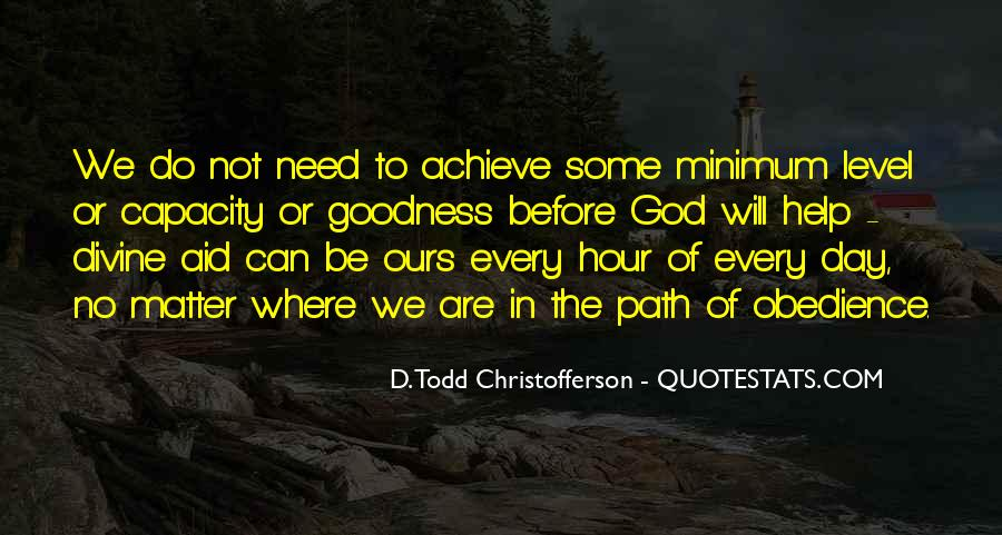 Christofferson Quotes #1121802