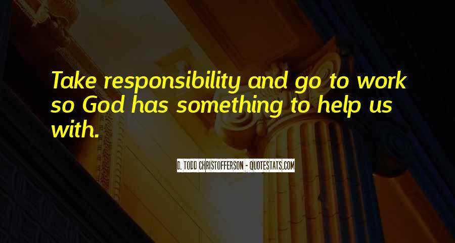 Christofferson Quotes #1205826