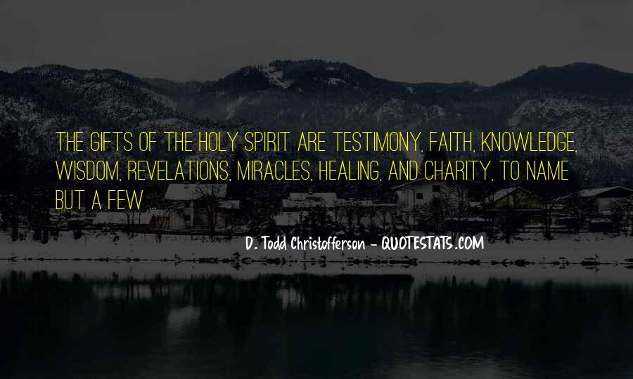 Christofferson Quotes #121412