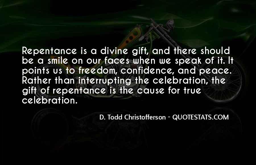 Christofferson Quotes #1343107