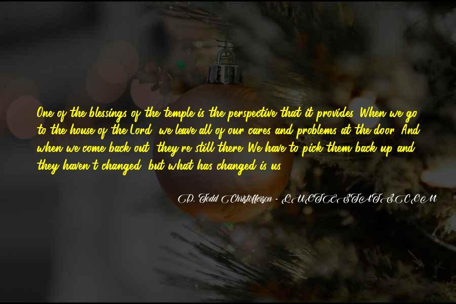 Christofferson Quotes #1412676