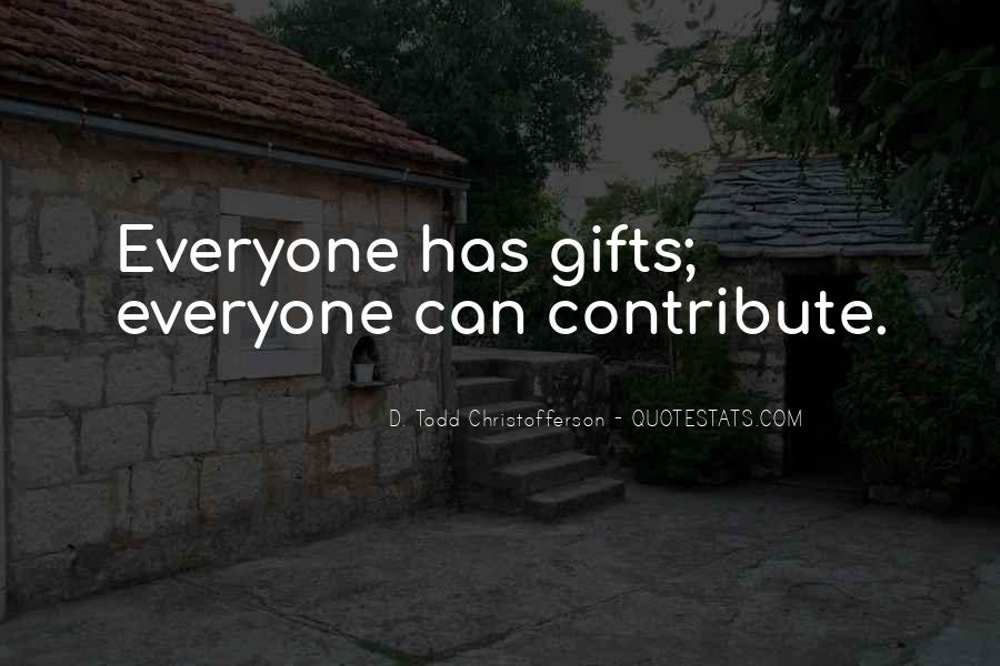 Christofferson Quotes #476227