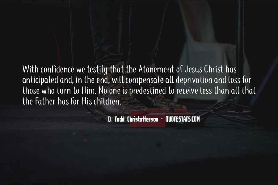 Christofferson Quotes #66007