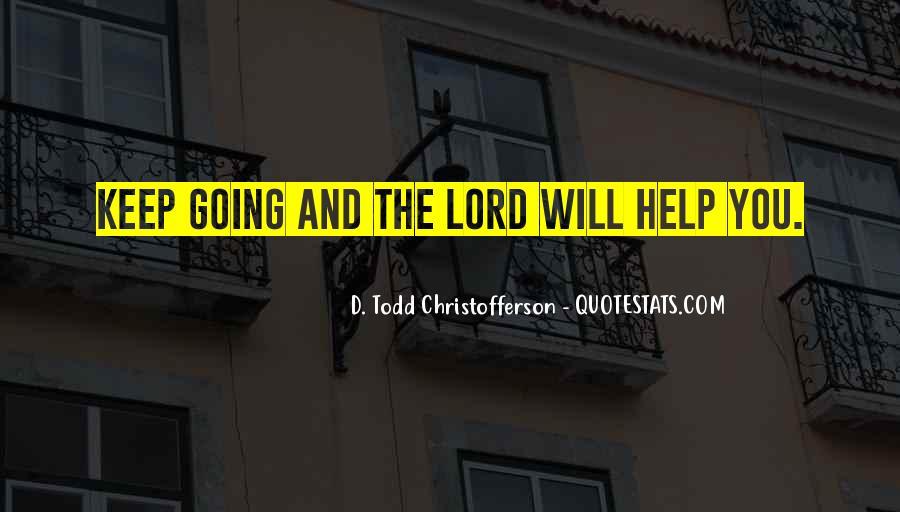Christofferson Quotes #748562