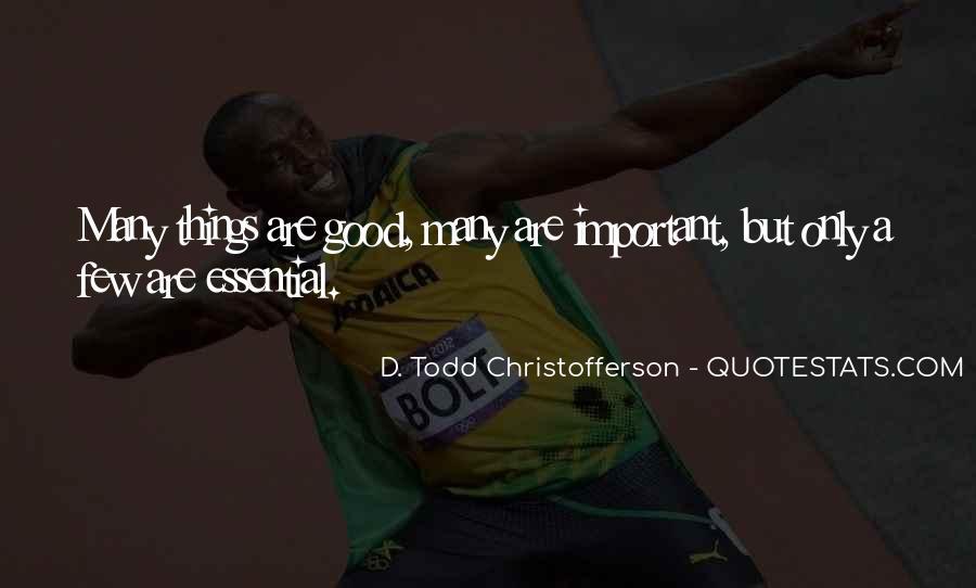 Christofferson Quotes #759949