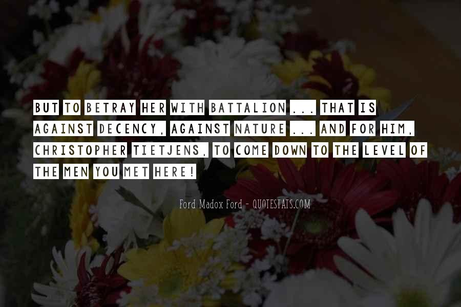 Christopher Tietjens Quotes #470531