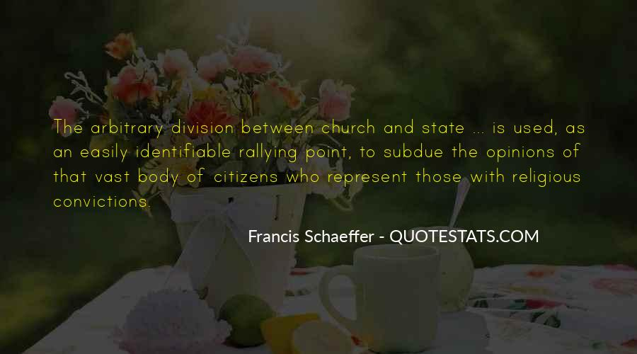Church Division Quotes #1079571