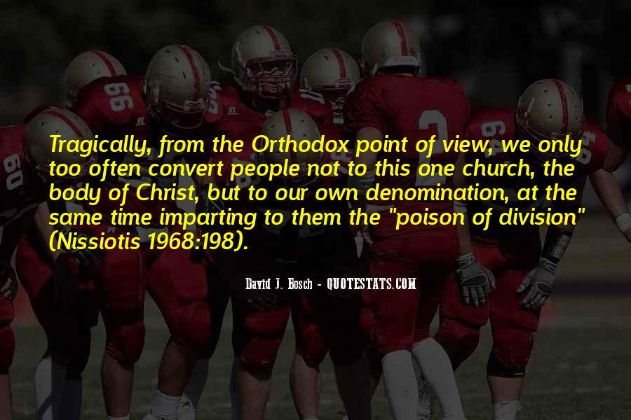 Church Division Quotes #1368647