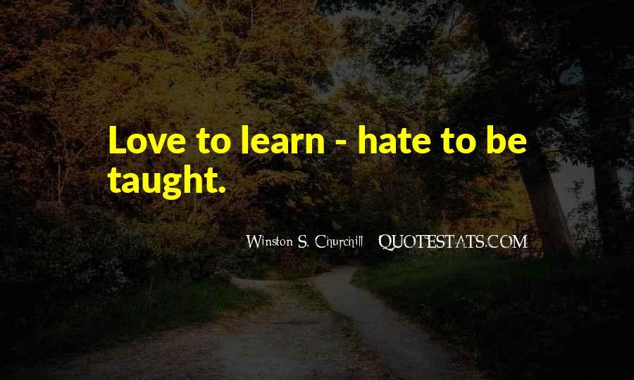 Churchill Love Quotes #1088409