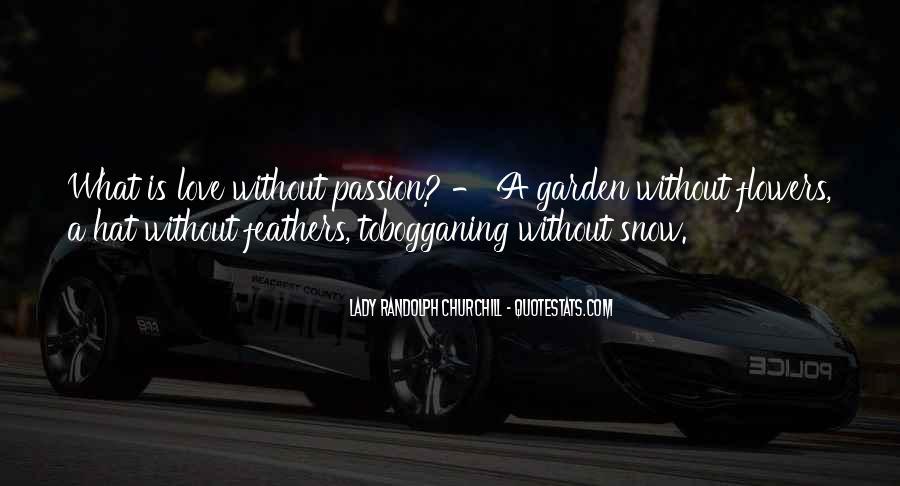 Churchill Love Quotes #1113416