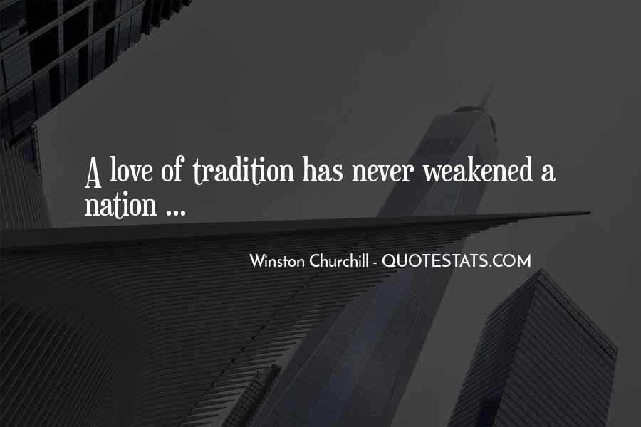 Churchill Love Quotes #1659898