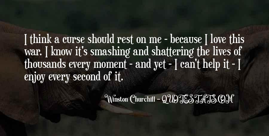 Churchill Love Quotes #1735634