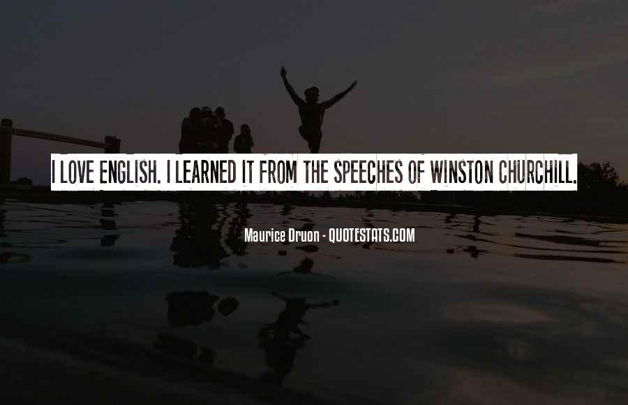Churchill Love Quotes #194610