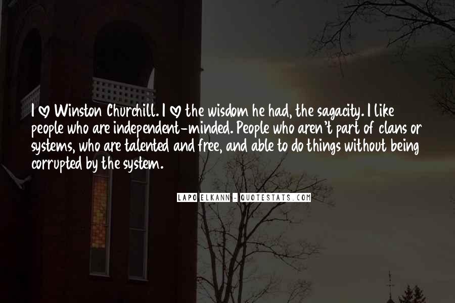 Churchill Love Quotes #363492