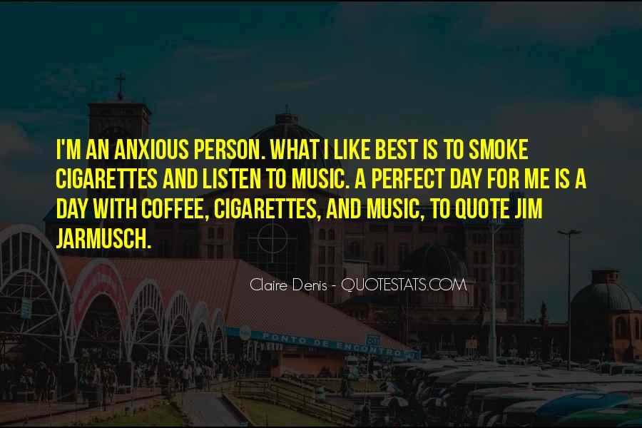 Cigarette Smoke Quotes #131155