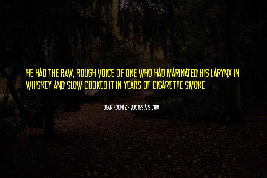 Cigarette Smoke Quotes #335743
