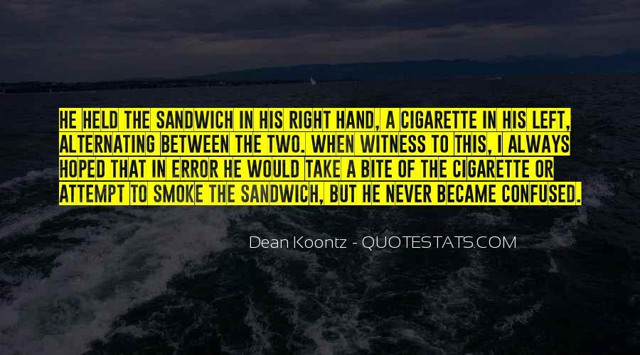 Cigarette Smoke Quotes #69169