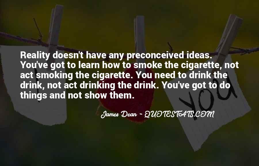 Cigarette Smoke Quotes #900640