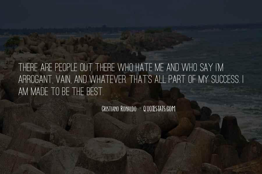 Quotes About Vain People #117437