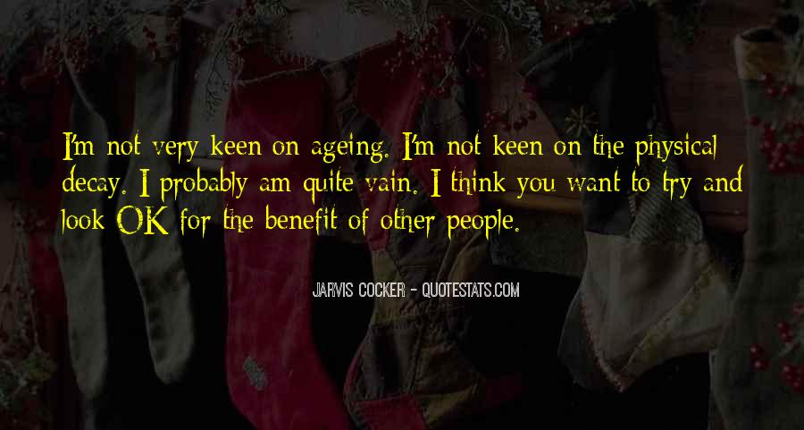 Quotes About Vain People #732978