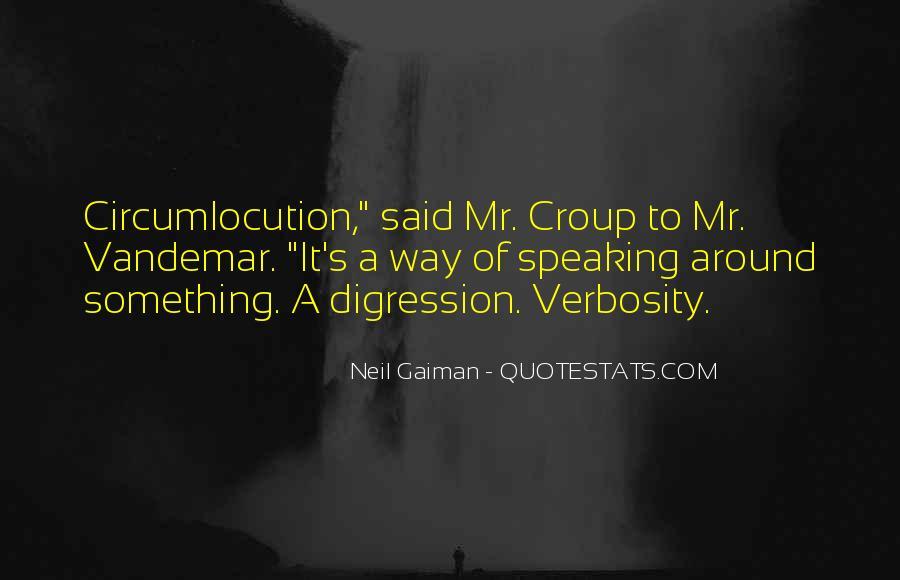 Circumlocution Quotes #1203685