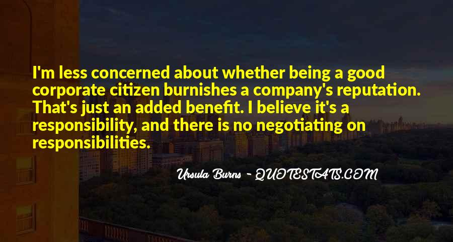 Citizen Responsibilities Quotes #201628