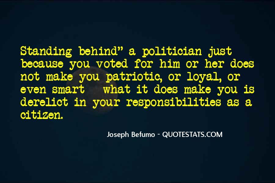 Citizen Responsibilities Quotes #314236