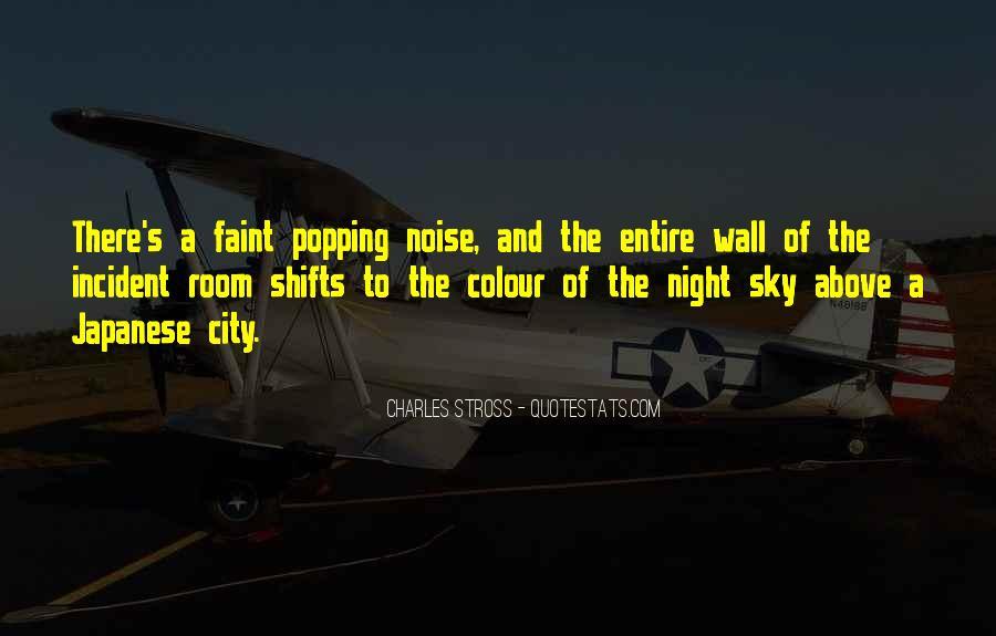 City Night Sky Quotes #1105592