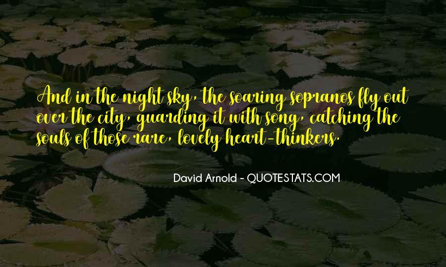 City Night Sky Quotes #1276906