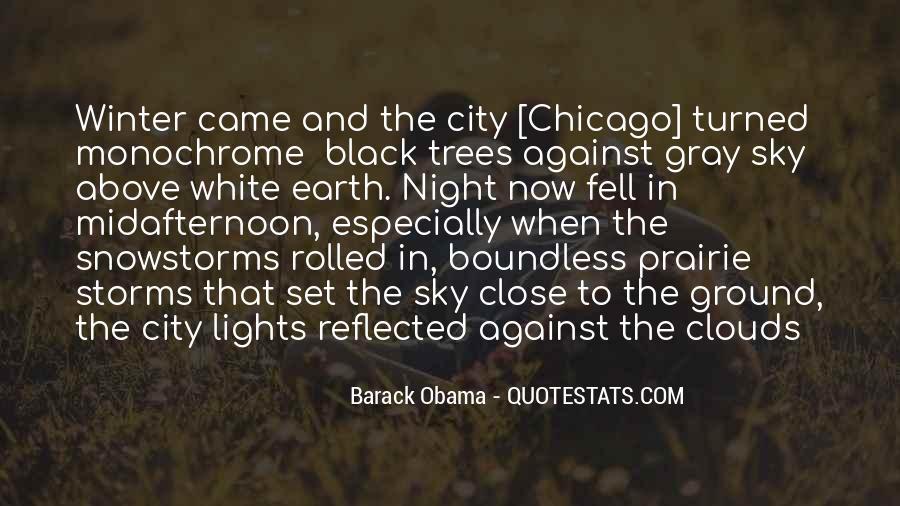 City Night Sky Quotes #1443811