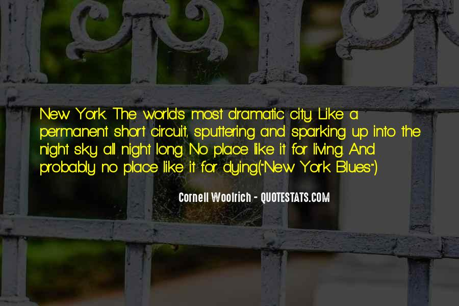 City Night Sky Quotes #81760