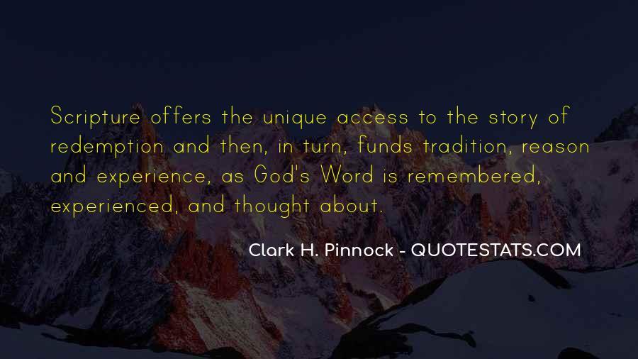 Clark Pinnock Quotes #1865279