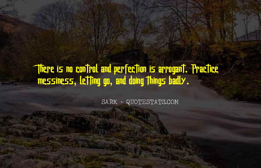 Quotes About Letting Go Of Perfection #1530163