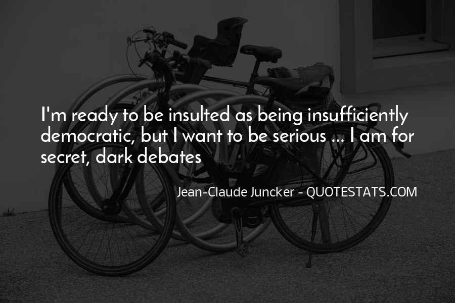 Claude Juncker Quotes #1257388